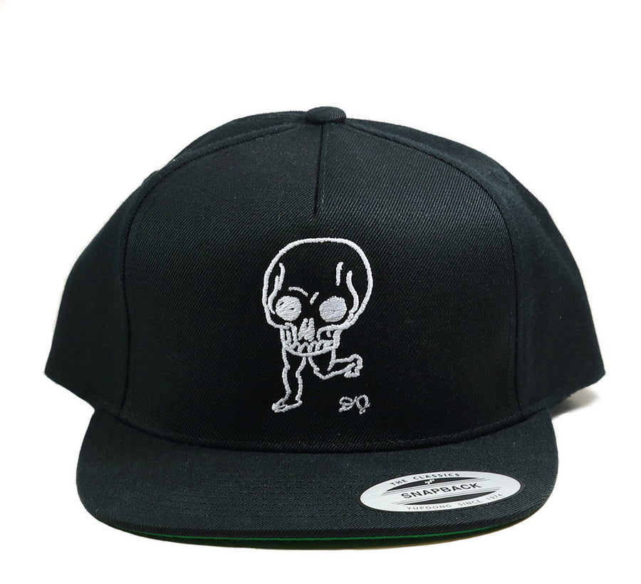 Daniel Johnston Skull Embroidered Hat