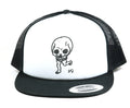 Daniel Johnston Skull SnapBack Hat