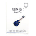 Guitar Solo Lapel Pin