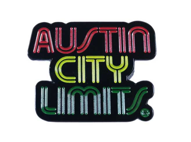 Austin City Limits Lapel Pin (Rasta)