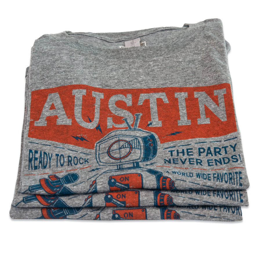 Austin Ready-to-Rock Robot T-shirt (youth)