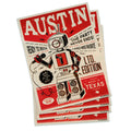 Austin Ready-to-Rock Robot Vinyl Sticker
