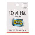 Local Mix Lapel Pin (Blue)