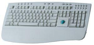 Scorpius - 980TPM Plus Ergonomic Keyboard & Mouse Trackball In One