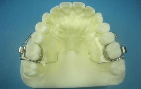 Anterior Bite Plate Retainer Orthodontic Model