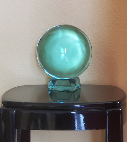 Aquamarine Crystal Ball