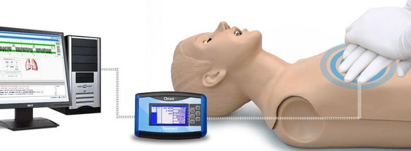 CPR Full Body Training Manikin Simulator Adult Code Blue/CPR Link Pack  With OMNI Second Generation Monitor