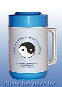 magnetic water cup magnetizing mug