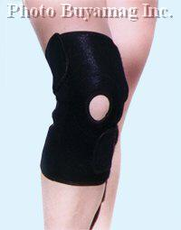 Magnetic Knee Support With 16 Ceamic Permanent Magnets