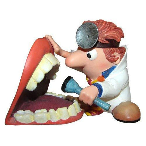 Dentist's Gift Figure Office Decoration Steel