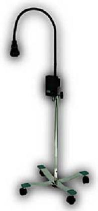 Dental Portable Fiber Optic Light Wheeled Floor Stand 6044 or 6144