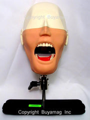 Dental Techniques Auxiliary Training Simulator/Manikin Magnetic Quick Disconnect System  Mask & Drainage System Complete