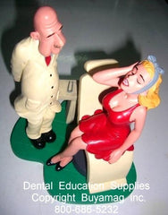 Dentist Gifts Male Patient Female Toothache Art Figure In Office Decoration  Display