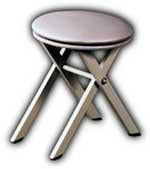 Dental Field Basic Stool Portable With Scissors base