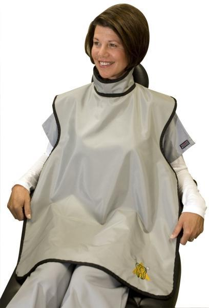 Dental X-Ray Patient Protection Apron Front & Thyroid/Neck Collar Protection
