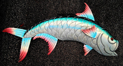 fish tarpon sea life ocean decoration