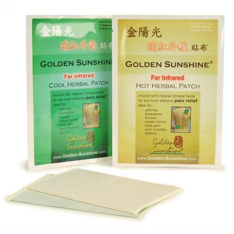 golden sunshine chinese patches