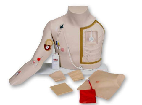 Chester Chest Vascular Access Devices (VAD'S) Simulator