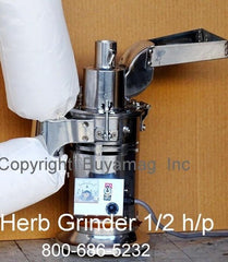 herb grinders industrial commercial