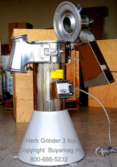 herb grinder commercial 3hp