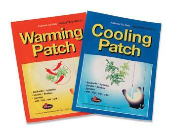 Warming  or Cool Patches Pkg Of 6