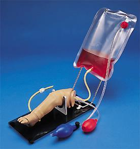 Intraosseous Infusion & Injection Leg Training Simulator Newborn or Year Old