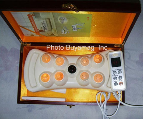 far infrared jade stone light heating therapy