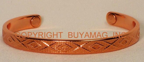 Magnetic Bracelet  Copper Pyramid or Fashion