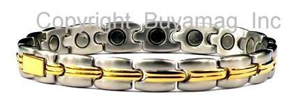 Magnetic Bracelets Stainless Steel or Titanium  With Magnets