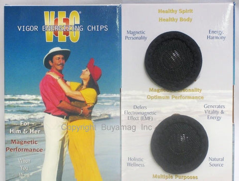 magnetic therapy vigor energizing chips VEC