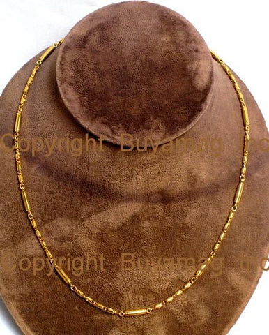 BioMagnetic Necklace Chain Gold (Gold Plated)