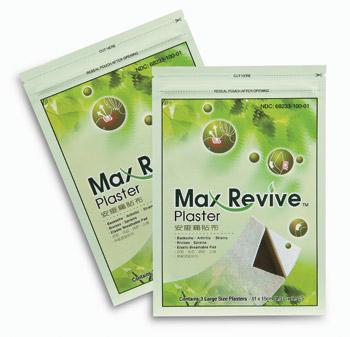 Max-Revive Plasters Small or Large