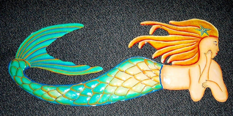 mermaid marine ocean sea life decor