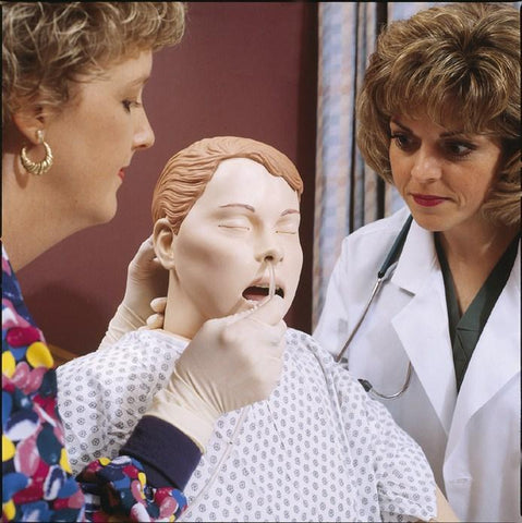 Nursing Female Patient Care Clinical Skills Manikin Deluxe
