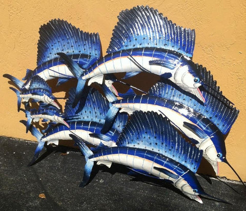 Sailfish Ocean Sea Marine Life Art Decoration