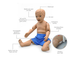 Pediatric Care Simulator 1 Year Old