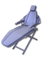 Dental Portable Patient Chair Supreme Aluminum With Scissor Base