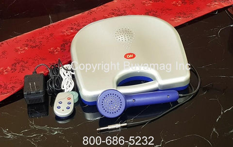 GiGong Professional Deluxe Universal Machine Massager Sitting 2 Transducers New Generation