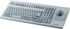 Scorpius - 35PM/NET Ergonomic Keyboard & Mouse Trackball In One