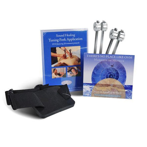 Sound Therapy Tuning Forks OHM Professional Starter Package