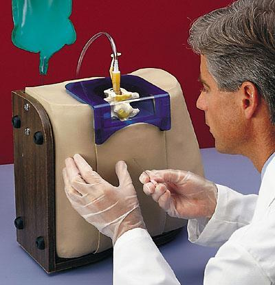 spinal epidural injection simulator