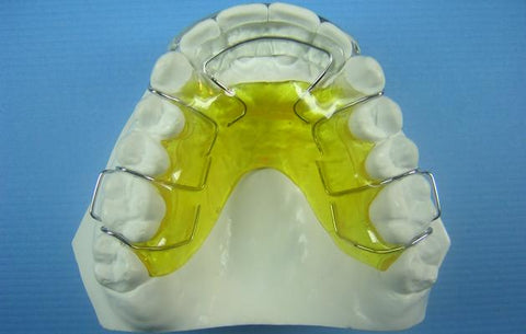 Modified Spring Retainer Orthodontic Model