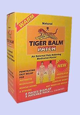 Tiger Balm Patches - Pain Relieving - Great for Sore Muscles