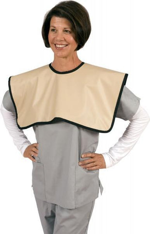 "Dental X-Ray Patient Protection ""Panoramic Cape""  Upper Torso: Shoulders Chest Front & Back"