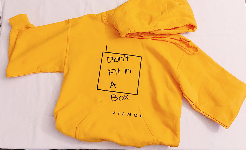 Small Orange Hoodie