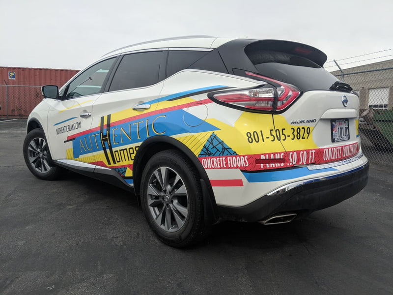 Check out our car wrap!