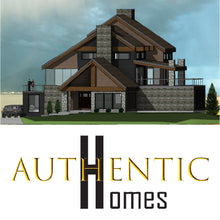 Load image into Gallery viewer, LUXURY House Plans by Authentic Homes in Utah