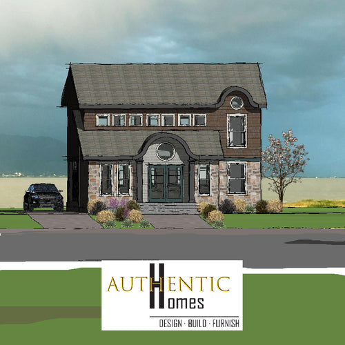 SHINGLE House Plans by Authentic Homes in Utah