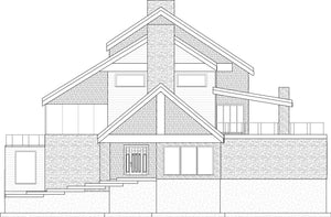 LUXURY House Plan Elevation by Authentic Homes in Utah