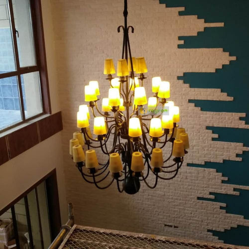 American Rustic Vintage Chandelier - Lighting